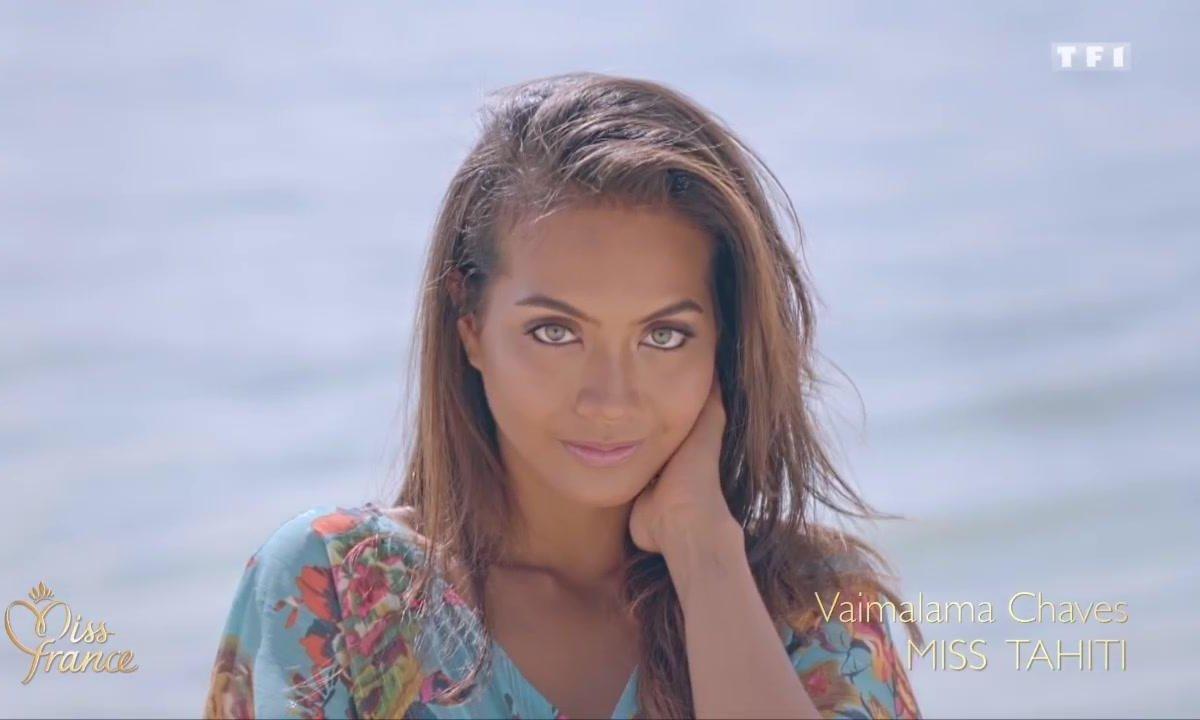 Qui est Miss France 2019, Vaimalama Chaves ?