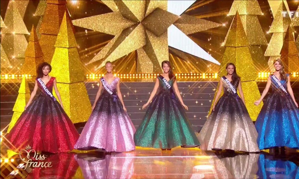 Miss France 2019 – Dernier défilé pour les 5 Miss finalistes avant le verdict