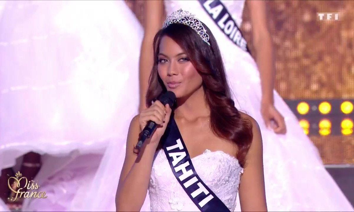 """Miss France 2019 – les mots de Miss Tahiti  """"J'ai longtemps été ronde"""""""