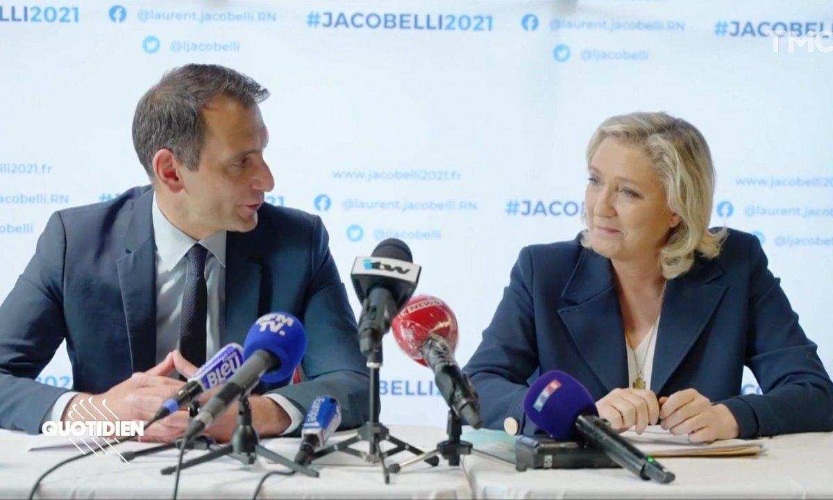 Élections régionales : dans le Grand-Est, la veste du RN Laurent Jacobelli