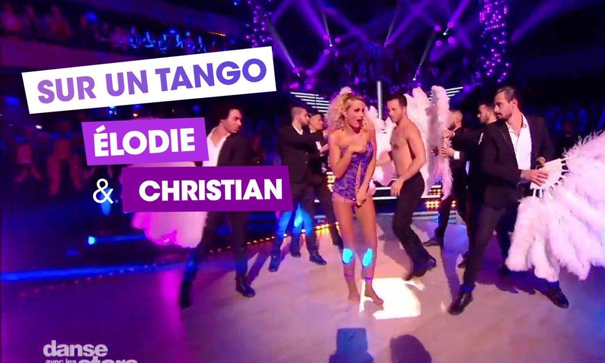 Sur un Tango, Elodie Gossuin et Christian Millette (Look What You Make Me Do)