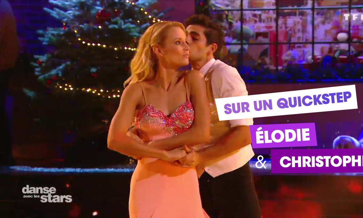 Sur un Quickstep, Elodie Gossuin et Christophe Licata (For once in my life)
