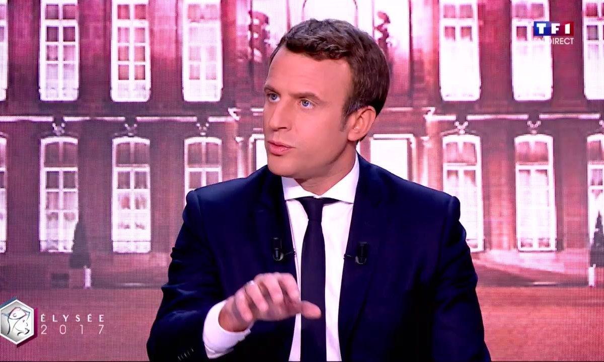 """Emmanuel Macron sur le soir du premier tour : """"C'était une joie légitime"""""""