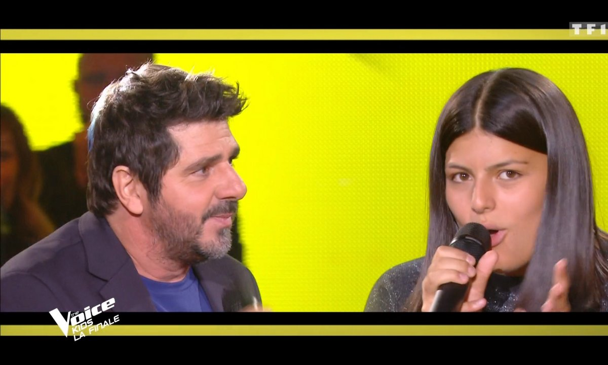 "The Voice Kids 2020 - Finale - Ema & Patrick Fiori chantent ""Fan"" de Pascal Obispo"