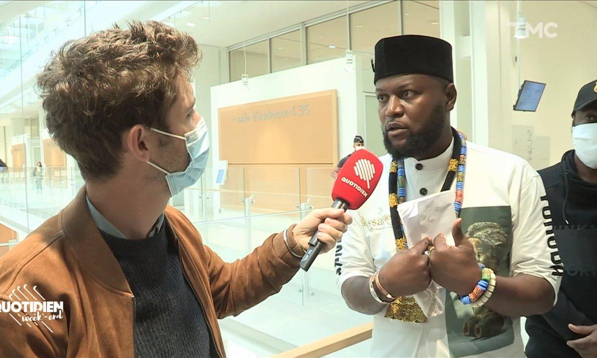 """Emery Mwazulu Diyabanza : le """"voleur"""" qui veut rendre justice à l'art africain"""