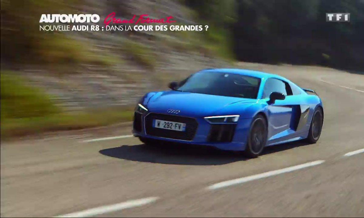 Grand Format : L'essai de la nouvelle Audi R8 V10 plus 2015