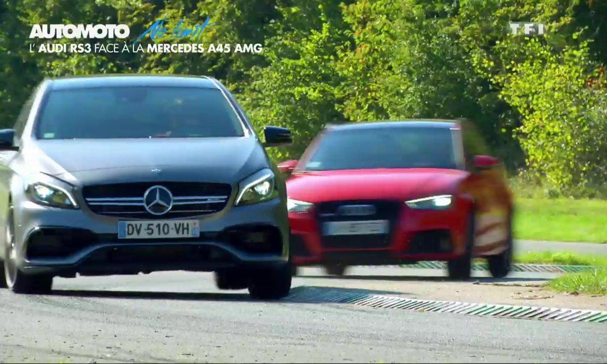 No Limit : Essai de l'Audi RS3 face à la Mercedes-AMG A45