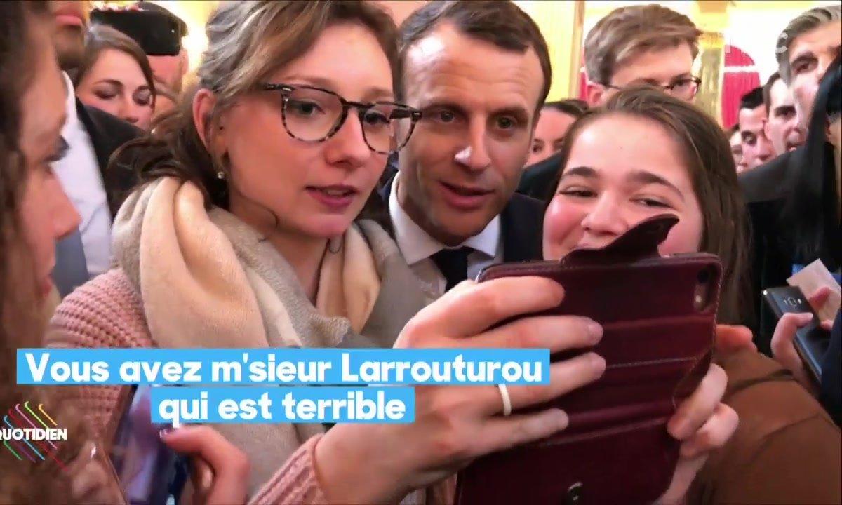 L'opération déminage d'Emmanuel Macron avant le salon de l'agriculture