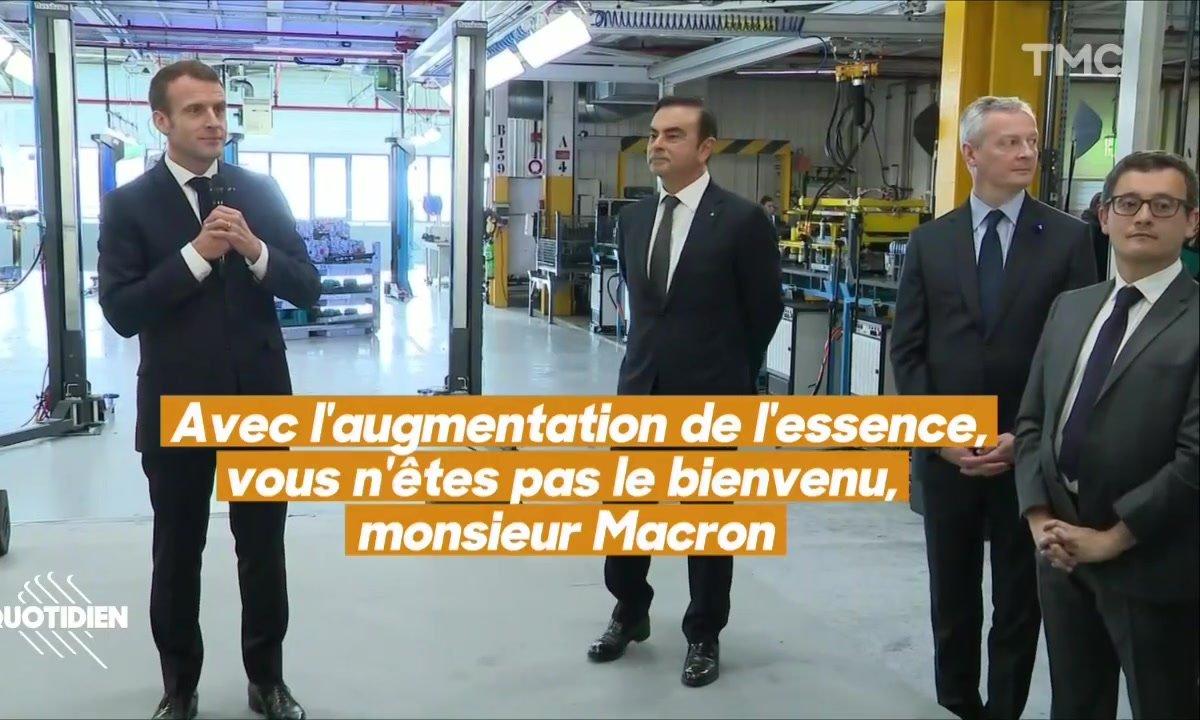 Macron à Maubeuge : rien ne s'est passé comme prévu