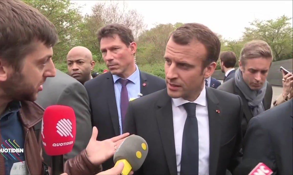 Emmanuel Macron a-t-il pu convaincre Donald Trump sur le climat ?