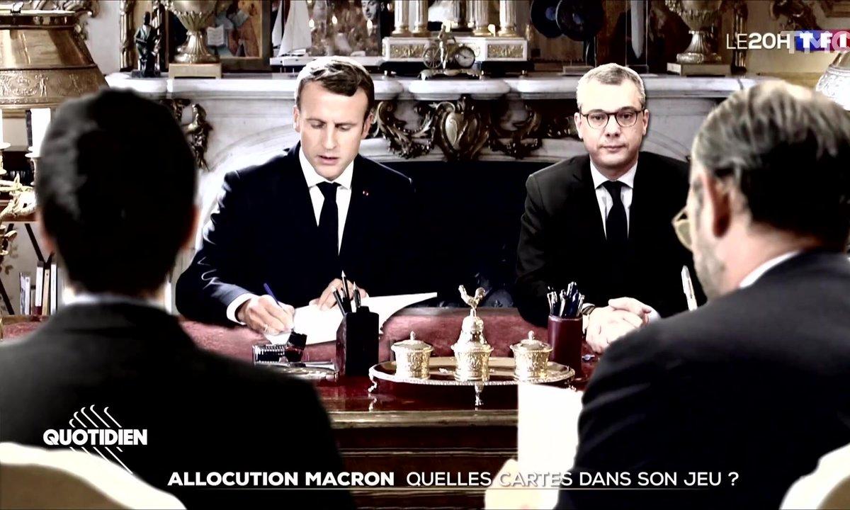 """Emmanuel Macron a une conception particulière de la """"confidentialité"""""""