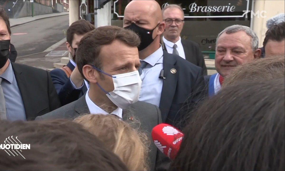 Emmanuel Macron dans les Hauts-de-France : ne dites pas qu'il est en campagne