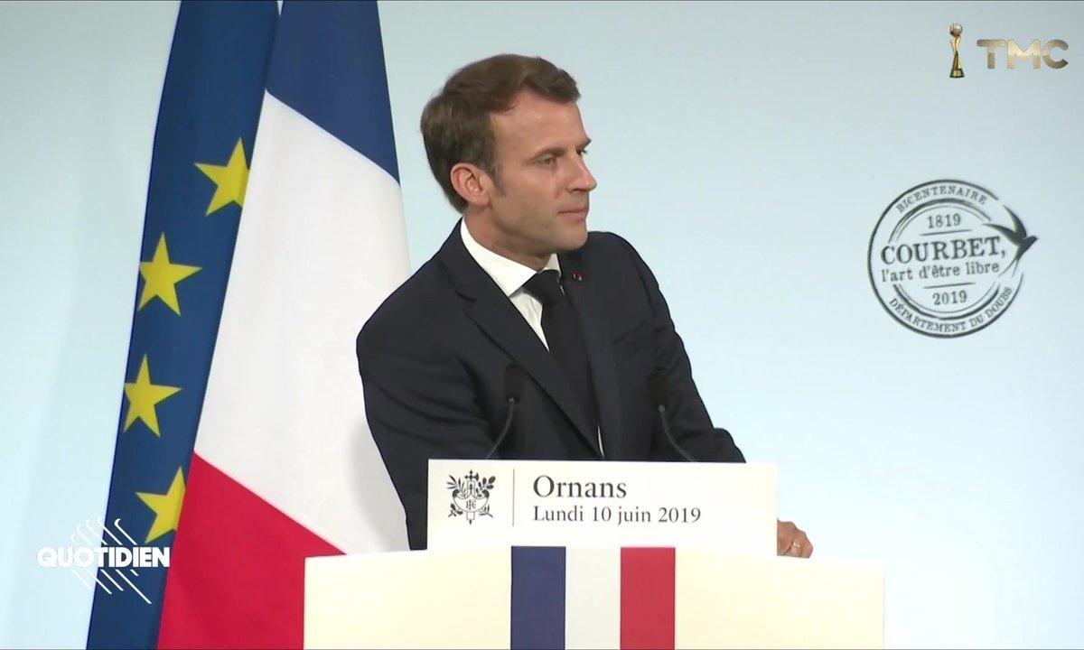 Emmanuel Macron : de l'écouter, le temps s'est arrêté