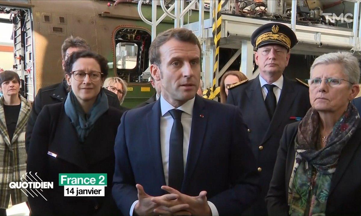 Emmanuel Macron et la police: itinéraire d'une rupture