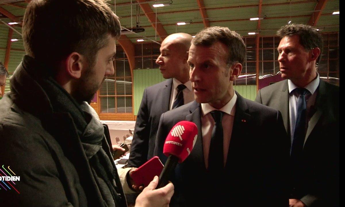 Emmanuel Macron s'exprime pour la première fois sur l'abandon du projet Notre-Dame-des-Landes (EXCLU)