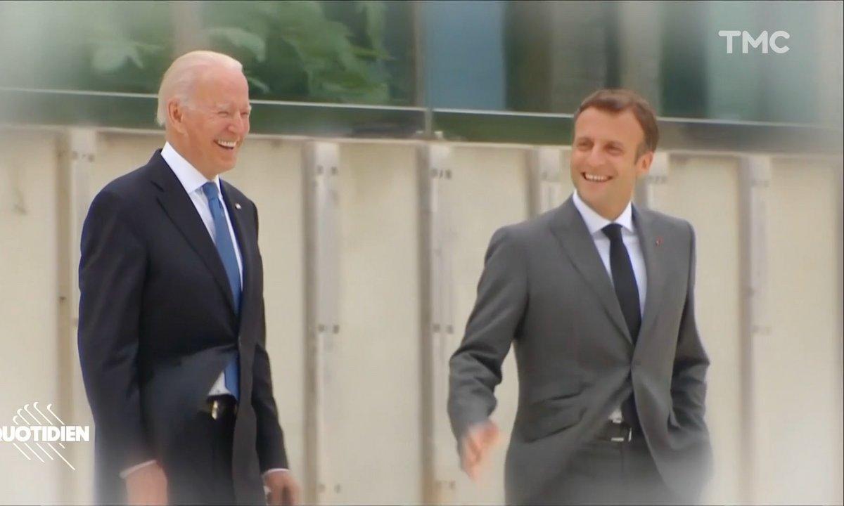 Emmanuel Macron, le pot de colle de Joe Biden