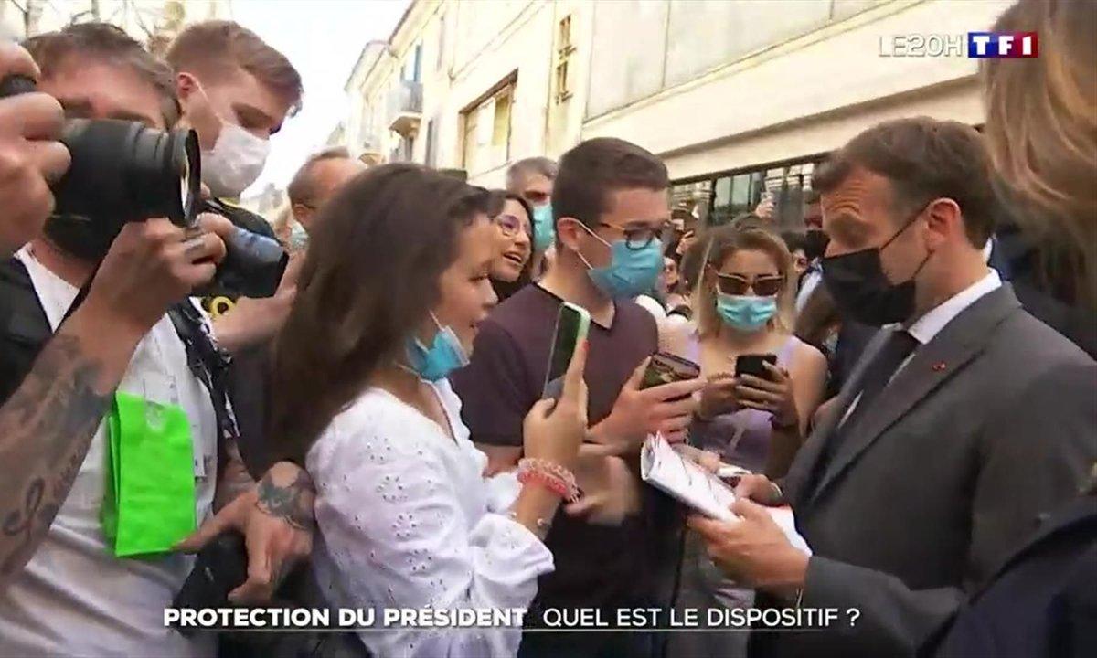 Emmanuel Macron : les questions de sécurité que pose sa gifle