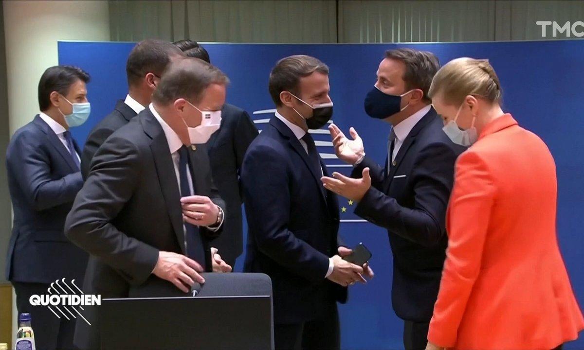 Emmanuel Macron positif au Covid: et il a vu BEAUCOUP de monde cette semaine