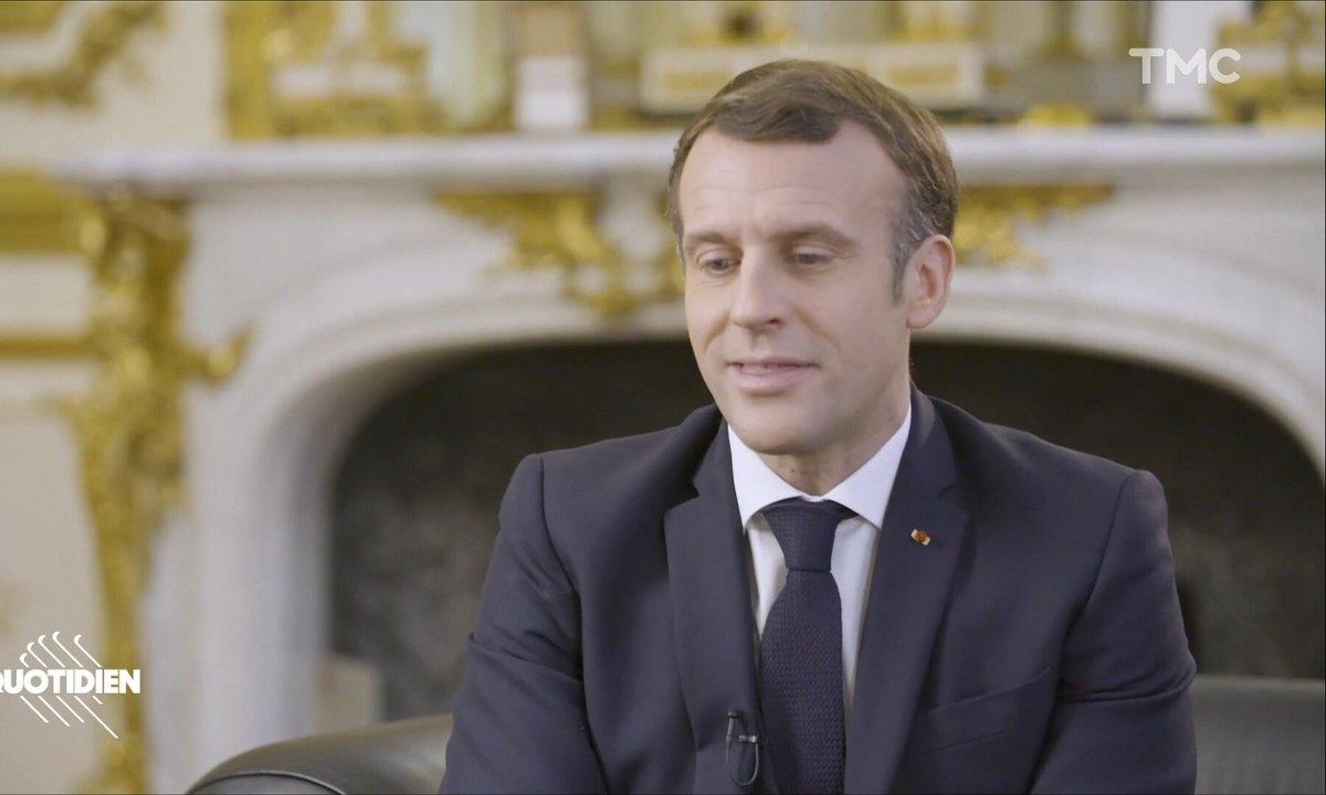 Emmanuel Macron qui parle anglais, c'est un peu de George Clooney, un peu de Justin Bridou