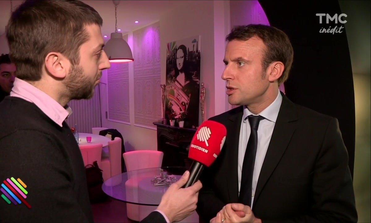 Emmanuel Macron sur les terres du FN