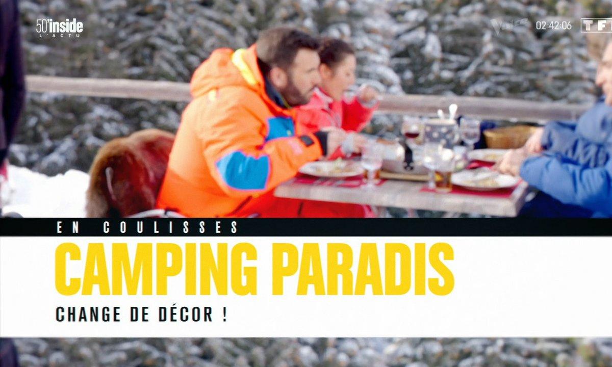 En coulisses: Camping Paradis chausse les skis !