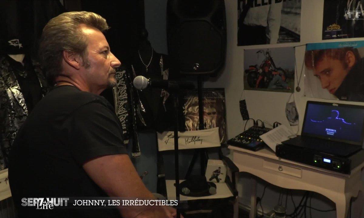 En immersion avec les irréductibles fans de Johnny Hallyday
