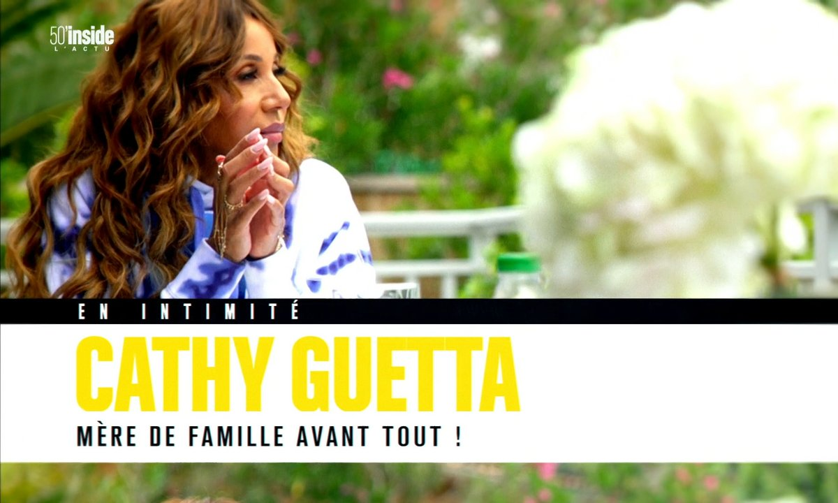 En intimité avec Cathy Guetta, mère de famille avant tout