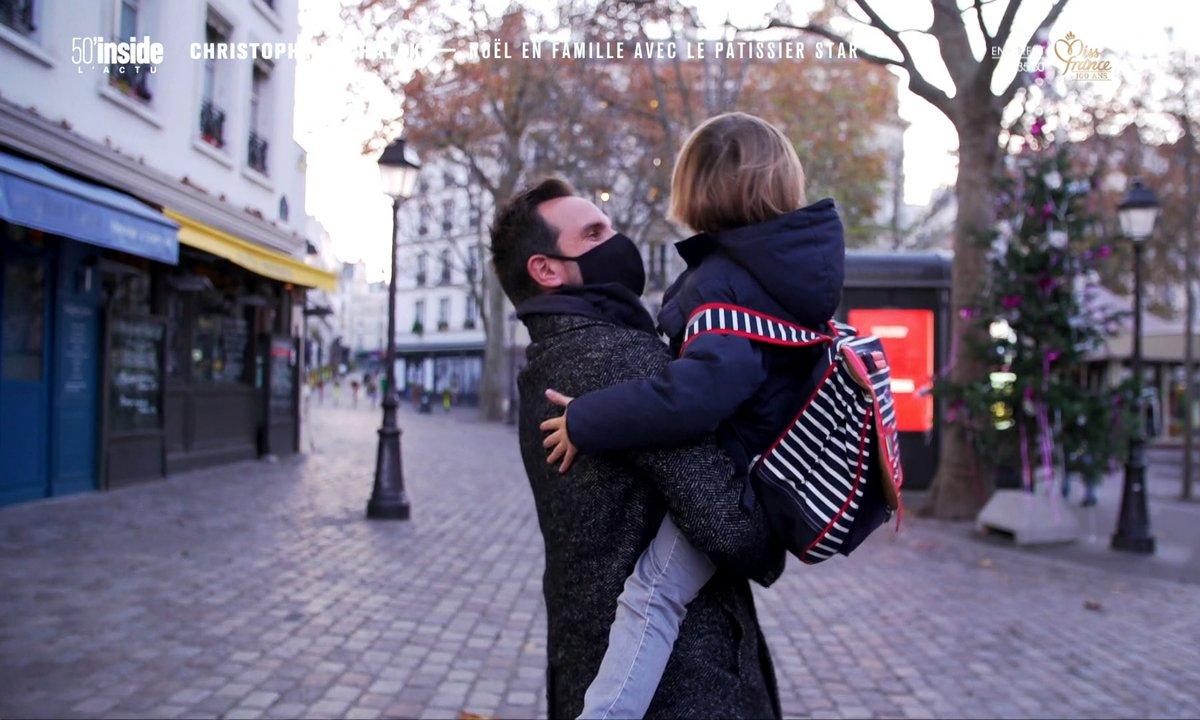 En intimité avec Christophe Michalak pour son Noël en famille