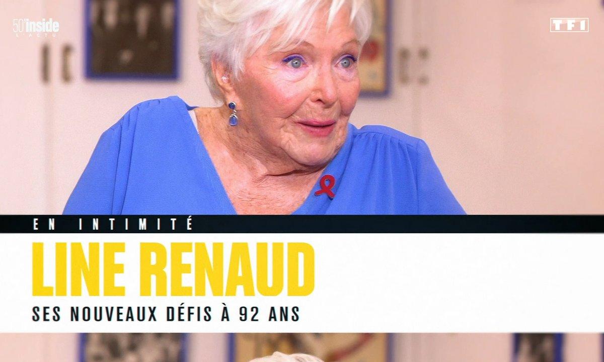 En intimité avec Line Renaud : à 92 ans, elle multiplie les nouveaux défis !