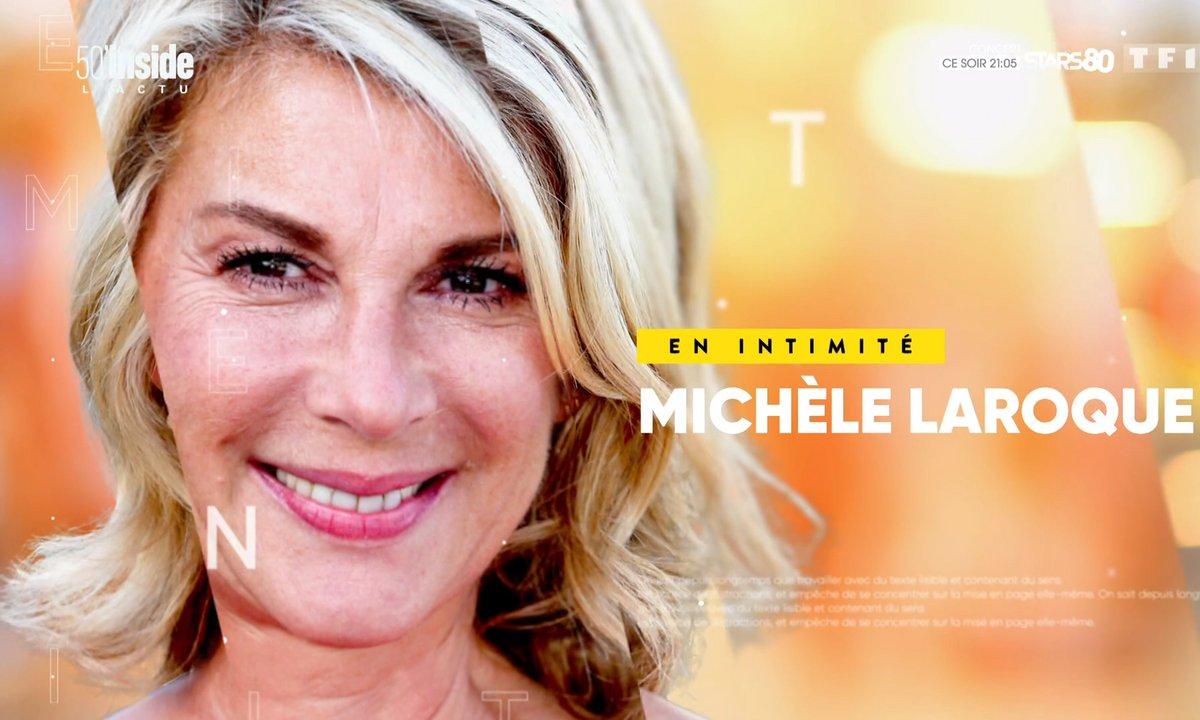 En intimité avec Michèle Laroque