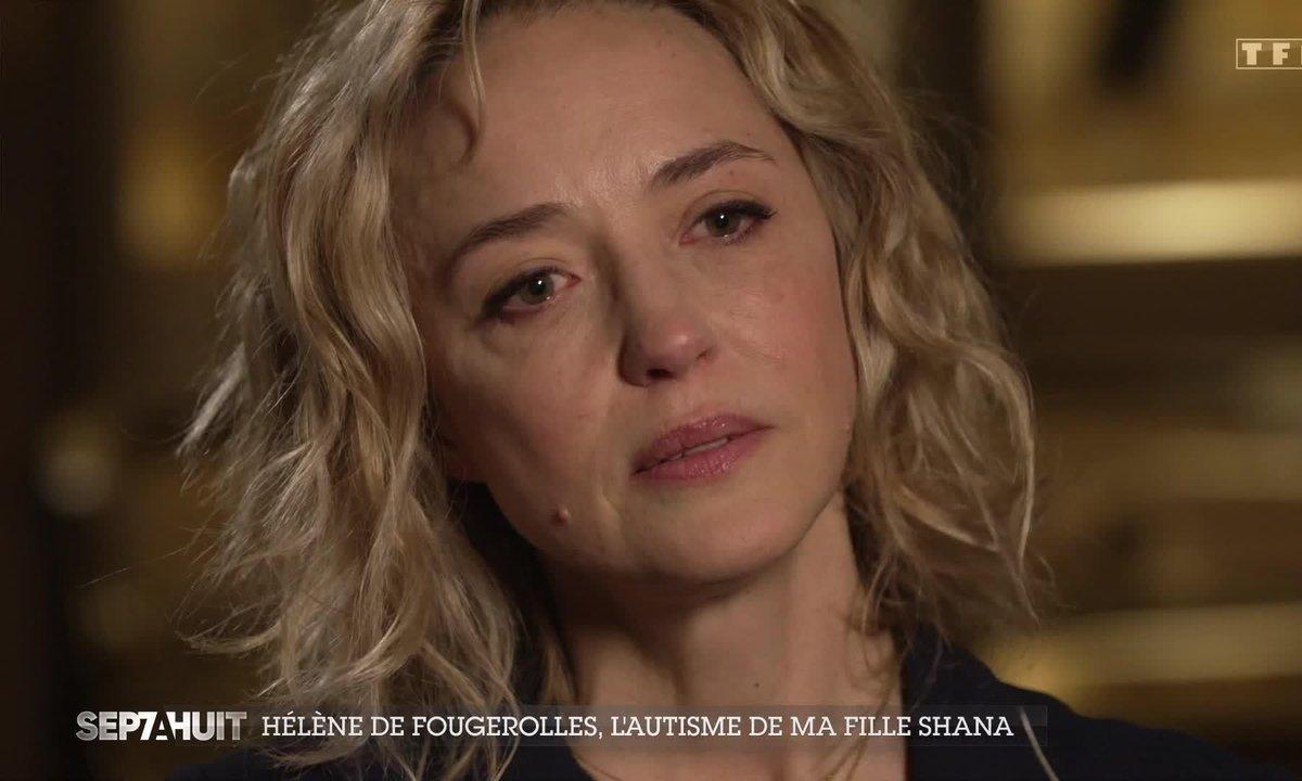 En larmes, Hélène de Fougerolles se confie sur l'autisme de sa fille Shana