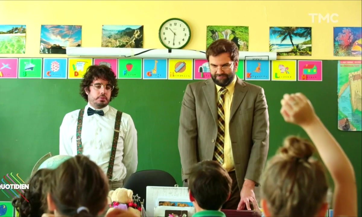 Les enfants et la grève (Eric et Quentin)