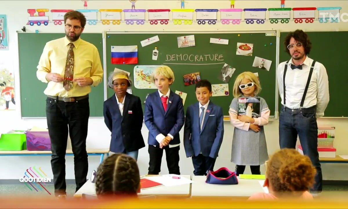 Les enfants et la Russie (Eric et Quentin)