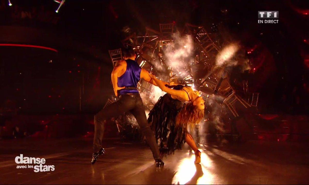 Un Paso Doble pour Enjoy Phoenix et Christophe Licata sur « Let's dance » (David Bowie)