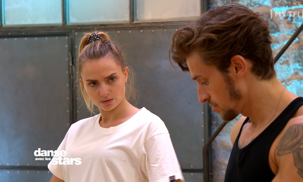 DALS 2021 - Répétitions - Entraînement intensif pour Aurélie Pons