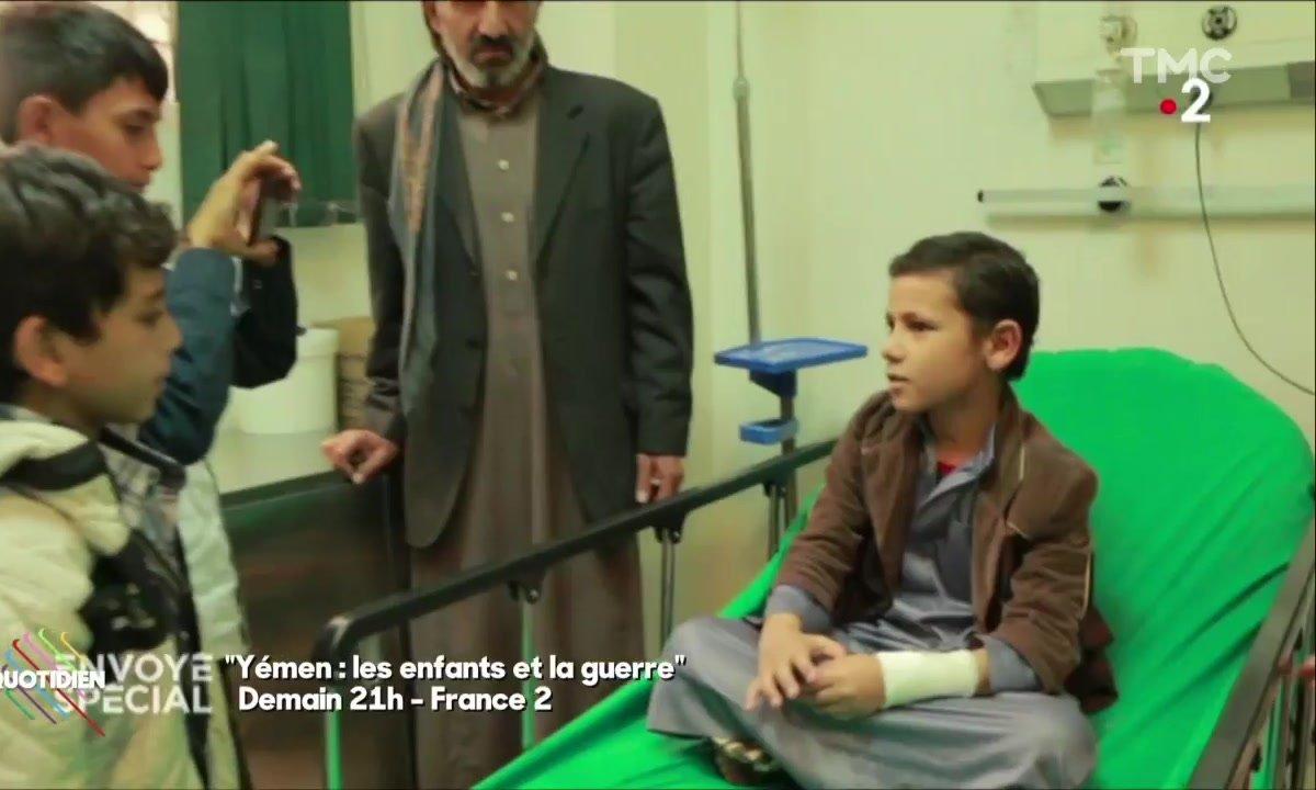 Envoyé spécial au Yémen : un reportage réalisé par des enfants