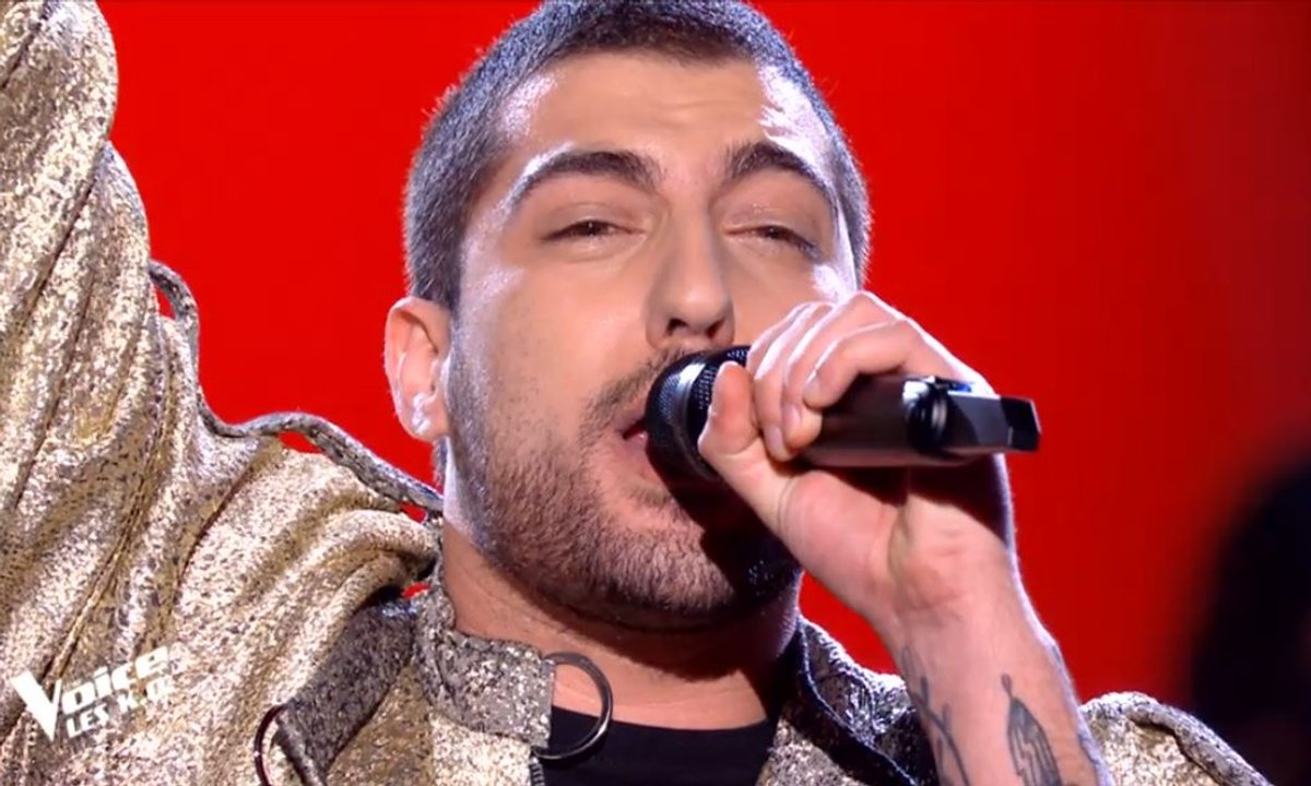 "THE VOICE 2020 - Enzo S chante ""Il suffira d'un signe"" de Jean-Jacques Goldman (KO)"