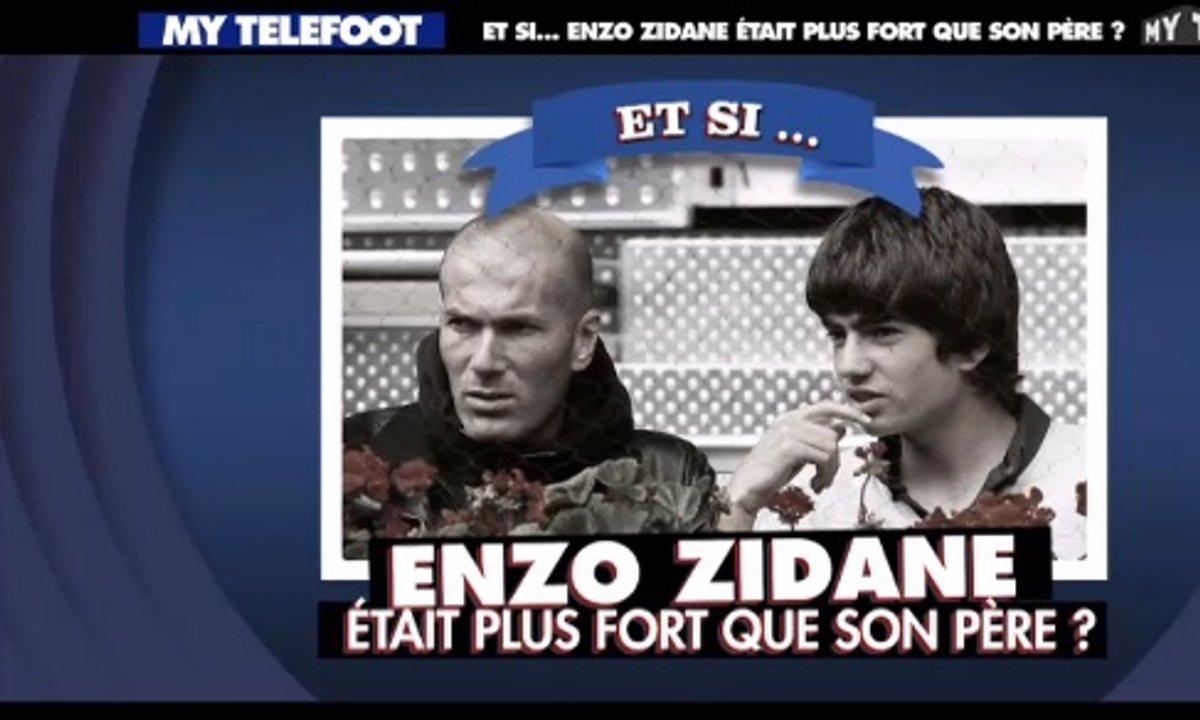 MyTELEFOOT – Et si... Enzo Zidane était plus fort que son père !