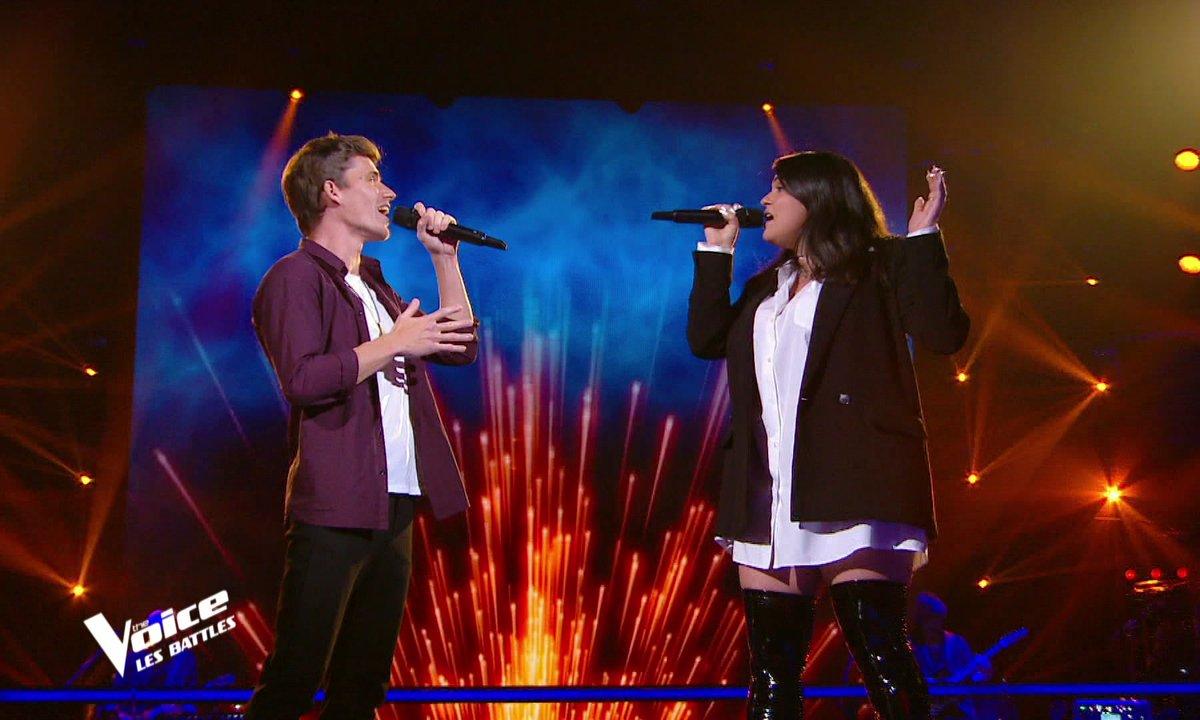 The Voice 2021 – Eolya VS Azza chantent « Yalla » de Calogero