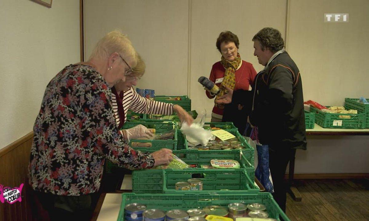 Aide alimentaire/ Centre itinérant (Sancey) - Au coeur des Restos du Coeur du 12 décembre 2019