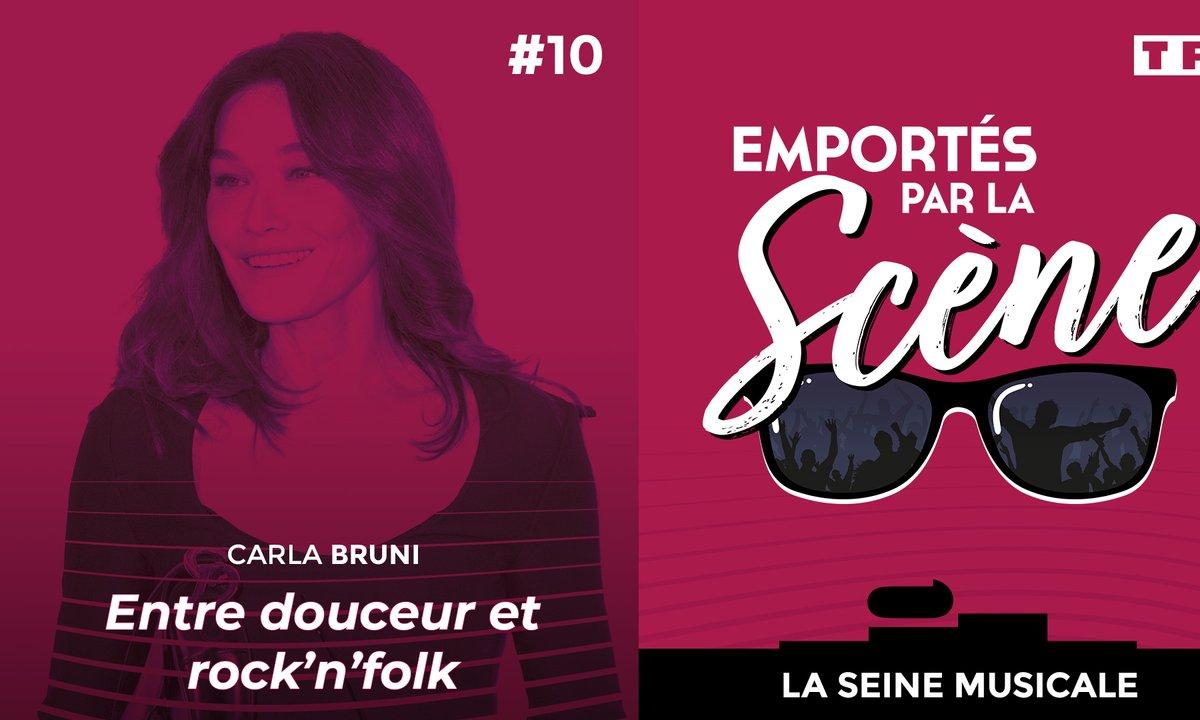 Carla Bruni, entre douceur et rock'n'folk