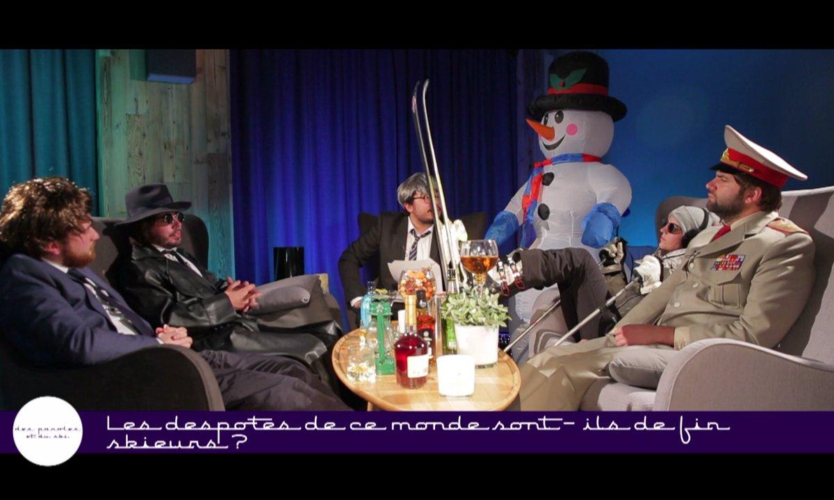 Le chocolat chaud : Des paroles et du ski