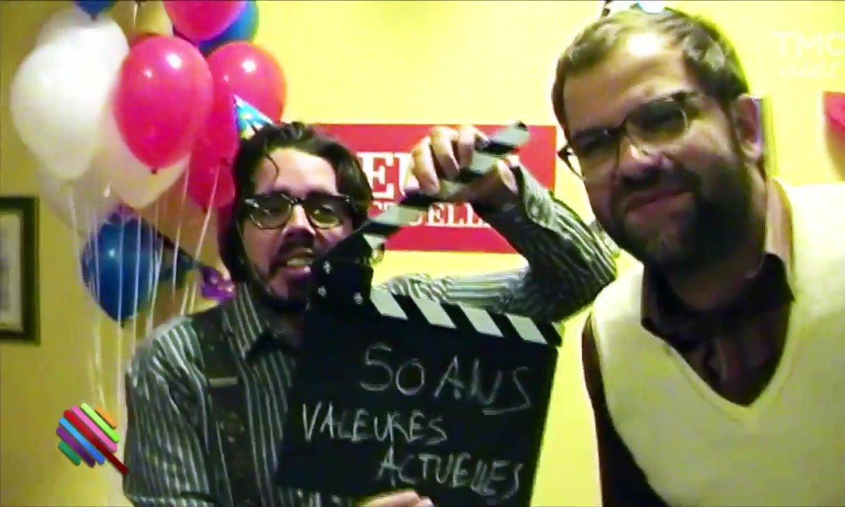"""Eric et Quentin fêtent les 50 ans de """"Valeurs Actuelles"""""""