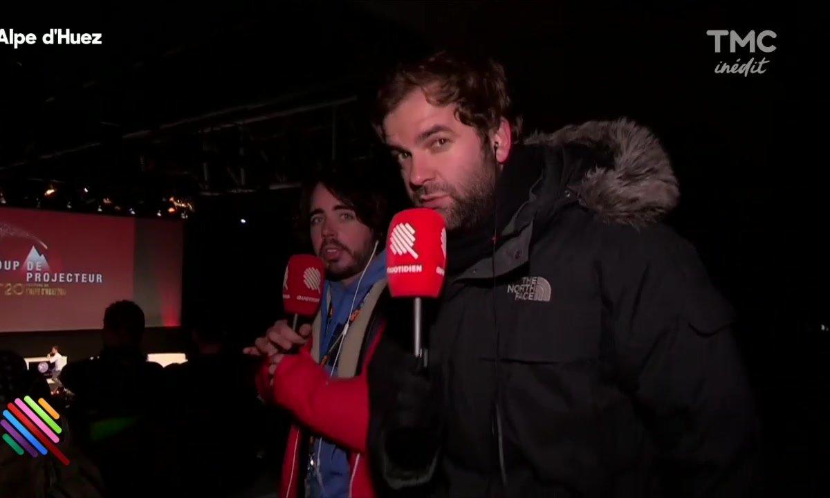 Eric et Quentin en direct de l'Alpe D'Huez