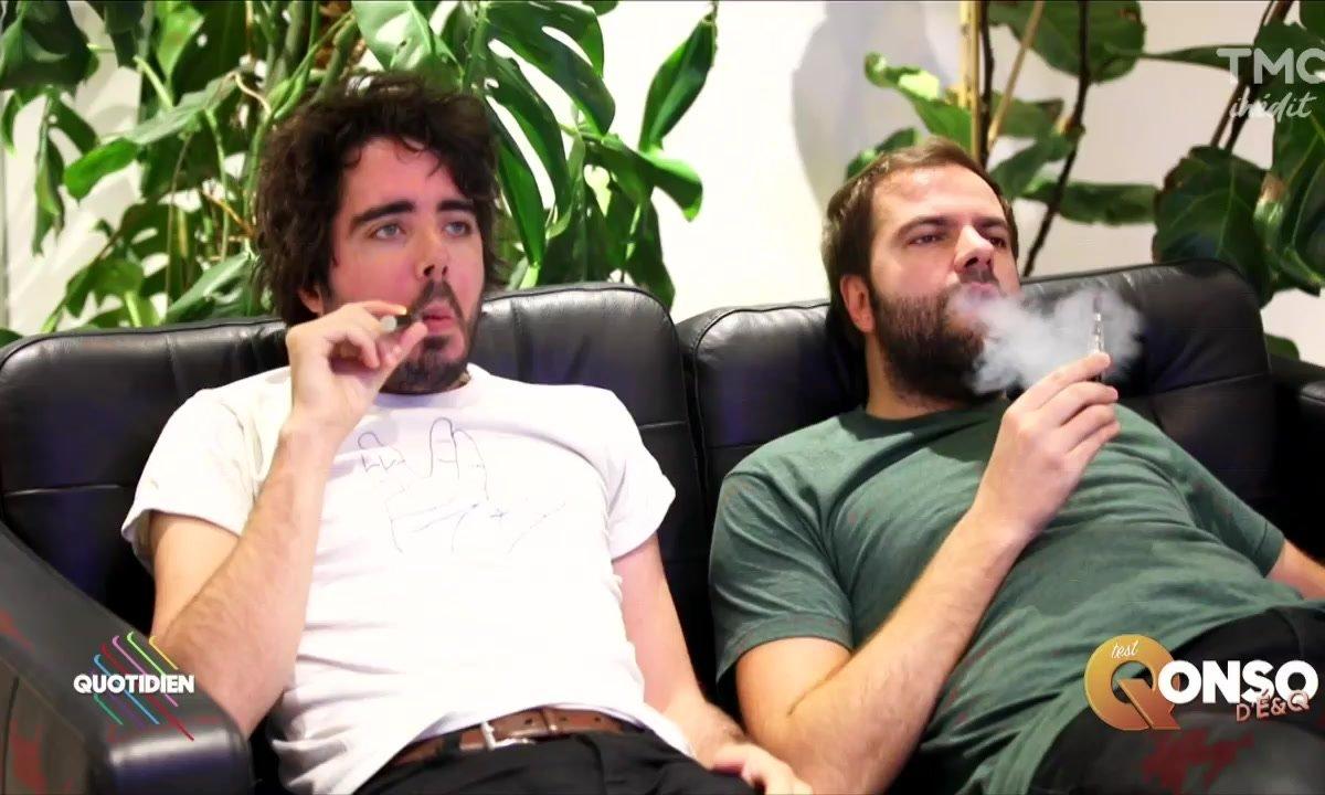 Eric et Quentin : le Haschich, oui, mais électro !