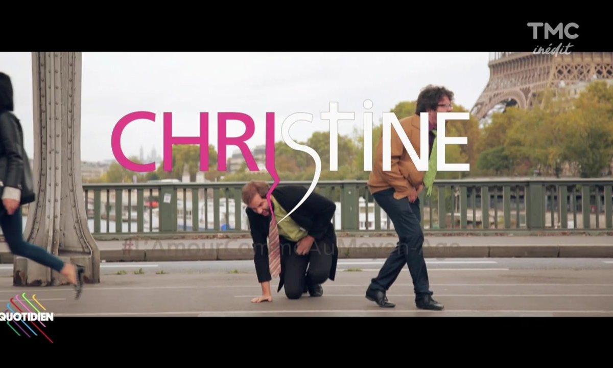 """Eric et Quentin présentent la nouvelle appli de rencontre """"Christine"""""""