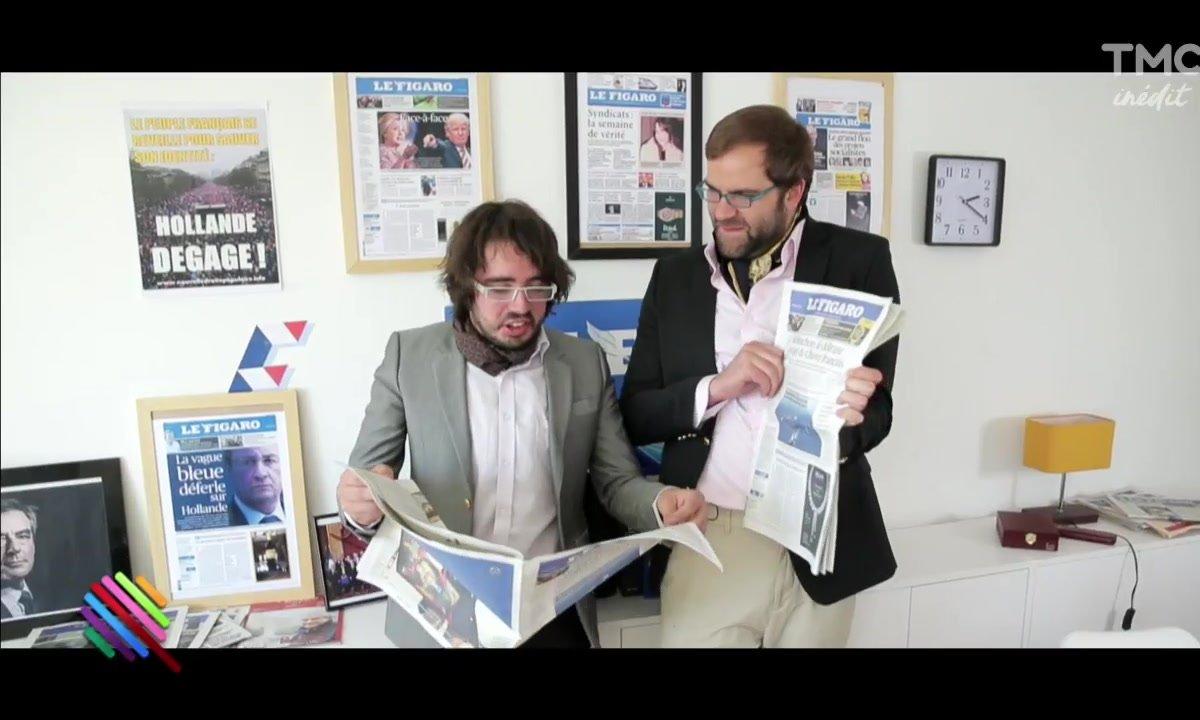 Eric et Quentin : Terreur mélenchoniste au Figaro