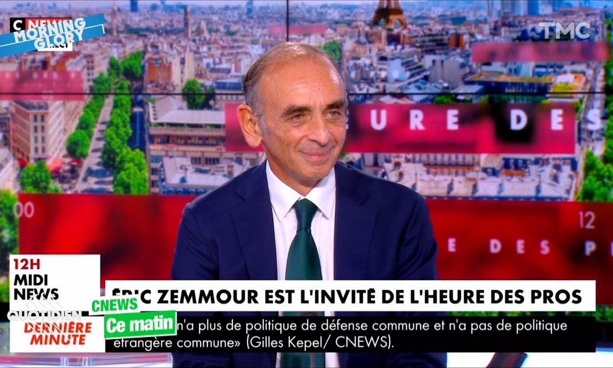 Éric Zemmour a bien failli nous faire pleurer