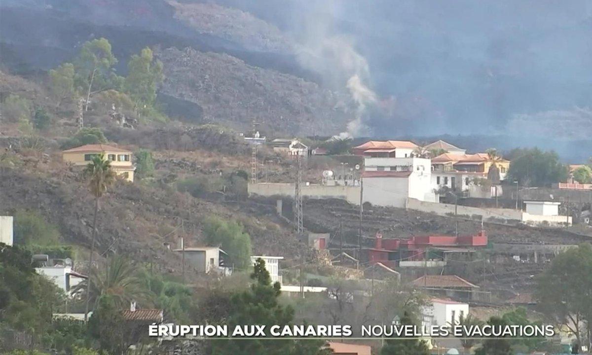 Éruption du volcan Cumbre Vieja aux Canaries : de nouvelles évacuations à El Paso
