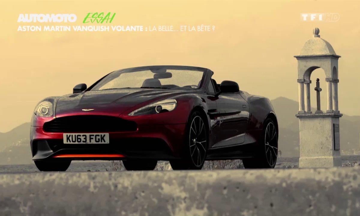 Essai : Aston Martin Vanquish Volante, le bijou britannique